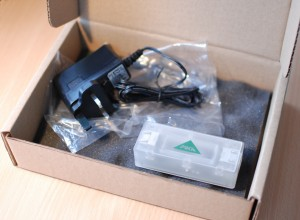 View of box contents for Pika uFirewall